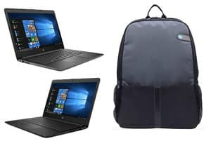 hp best laptop under 40000 with bag
