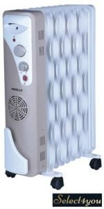 Havells OFR 9 Wave Fins with Fan Beige 2500 W